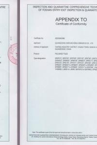 CE Certifikát Xinruncheng