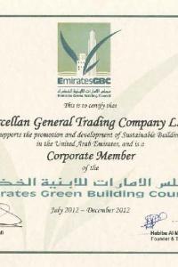 Green building (EGBC) Certificate