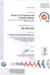 ISO 14001 ROYAL