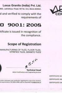 ISO 9001 LEXUS