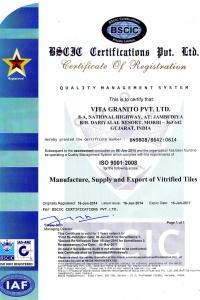 Granito ISO 9001