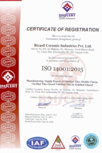 Ricasil ISO 14001