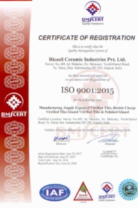 Ricasil ISO 9001